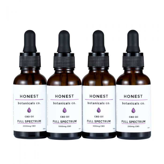 Full Spectrum CBD Oil from Honest Botanicals